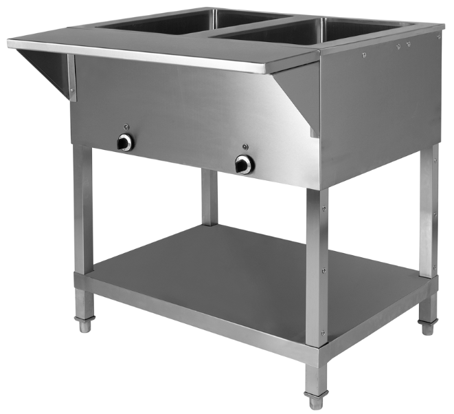 KTI SWH Sealed Well Electric Steam Table Volts With Drain - Restaurant equipment steam table