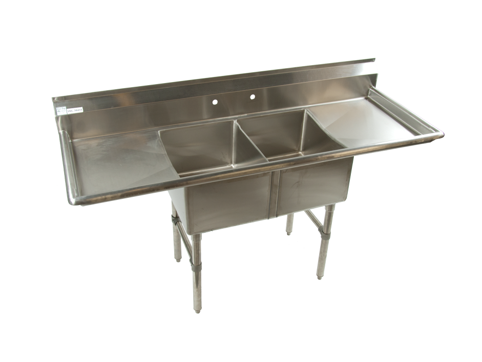 Double Compartment Kitchen Sink