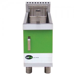 LoLo LCF15TPF-N - Gas Countertop Fryer - 15 lb Natural Gas