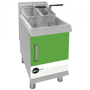 LoLo LCF30TPF-N - Gas Countertop Fryer - 30 lb Natural Gas