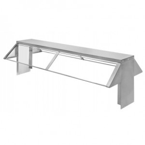 KTI KBS-2 2 Hole Steam Table Buffet Shelf