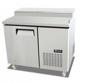 "Migali C-PP44 44"" Refrigerated Pizza Prep Table Cooler Competitor Series Commercial"