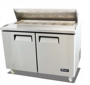 "Migali C-SP48-12 49"" Competitor Series Commercial Sandwich Preparation Table"