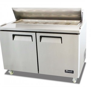 "Migali C-SP60-16 61"" Competitor Series Commercial Sandwich Preparation Table"