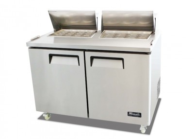 """Migali C-SP60-24BT 61"""" Commercial Refrigerated Sandwich Prep Table Cooler Competitor Series"""