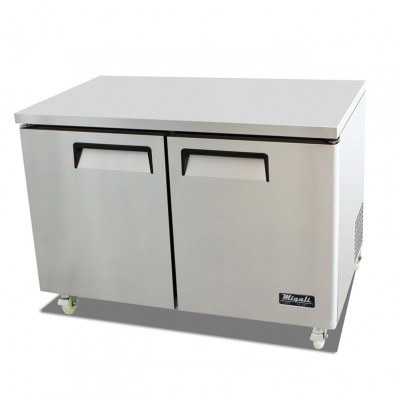 "Migali C-U48F 49"" Competitor Series Commercial Under Counter Work Top Freezer"