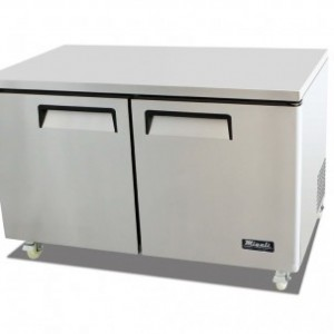 "Migali C-U60F 61"" Competitor Series Commercial Under Counter Work Top Freezer"