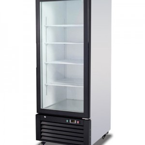 Migali C-23FM SS Reach In Freezer One Hinged Glass Door