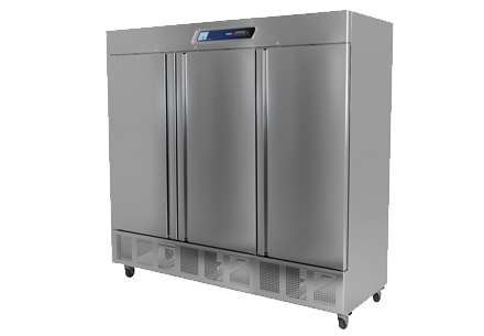 Fagor QVF-3 QV Series Freezer, reach-in, three-section, 76 cu.ft.