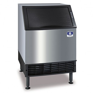 Manitowoc Ice UY-0240A Undercounter Half Cube Ice Maker - 225-lbs/day, Air Cooled, 115v