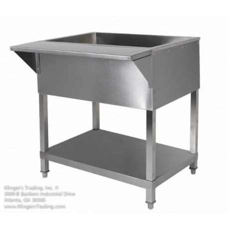 KTI CP-3 Ice Cooled Cold Pan Table