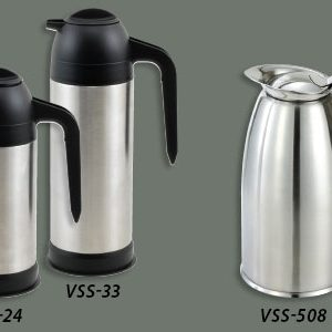 "Winco VSS-24 Coffee/Cream Server Stainless Steel (5.8"" x 10.1"")"
